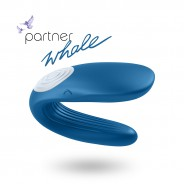 새티스파이어 파트너 partner whale 청록 | Satisfyer