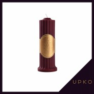 저온초 왁스 캔들 레드 | UPKO
